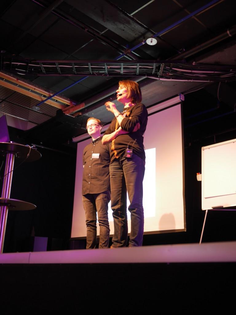 Lisa Hugosson berättar om samarbetet kring Dramatik i Grundskolan