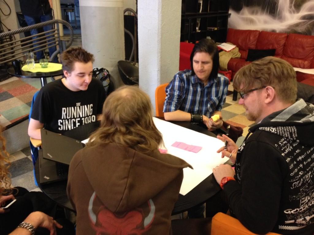 Grupparbete arrangörskap