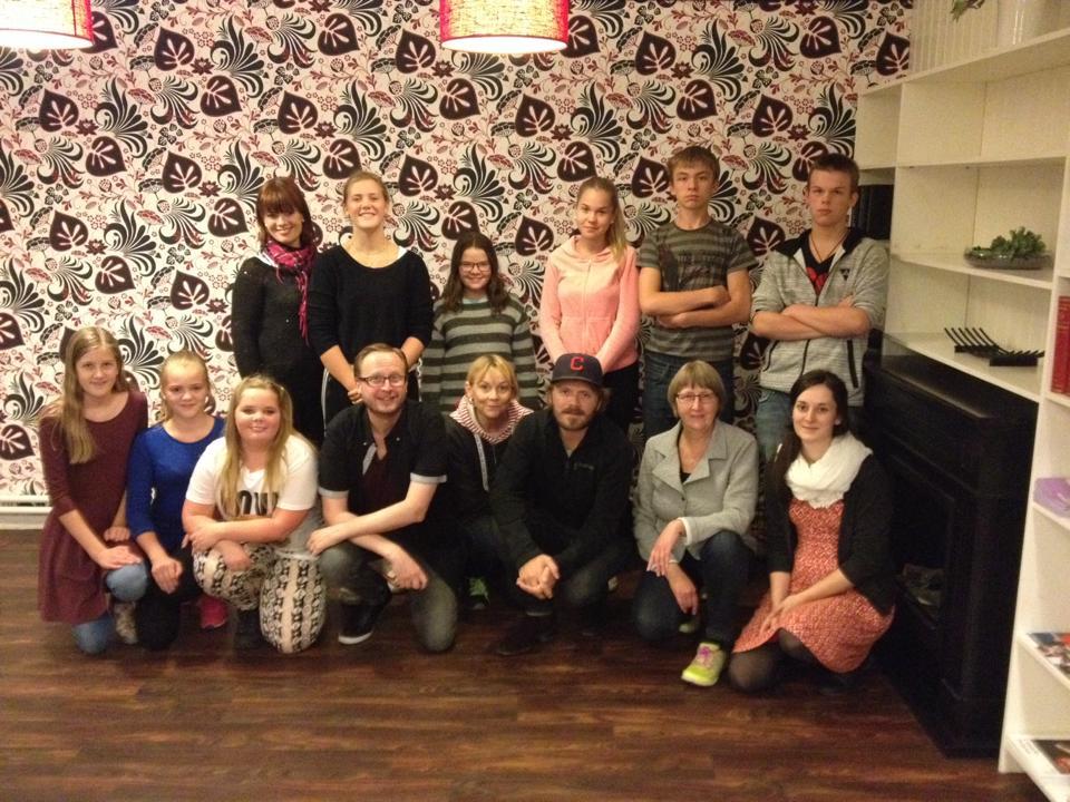 Delar av arrangörsgruppen. Foto: Nina Olsson
